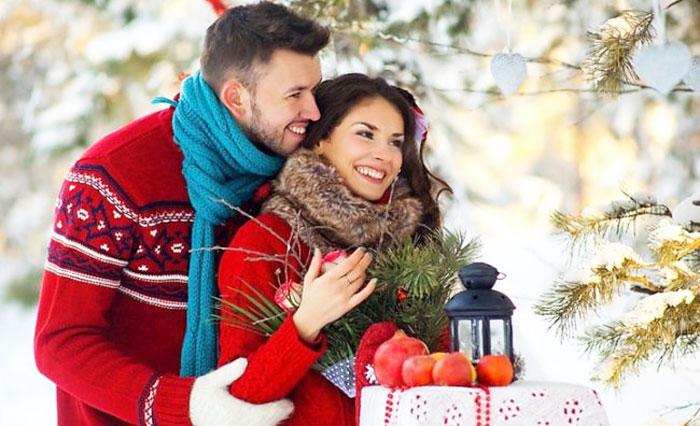 Где можно встретить Новый год с любимым