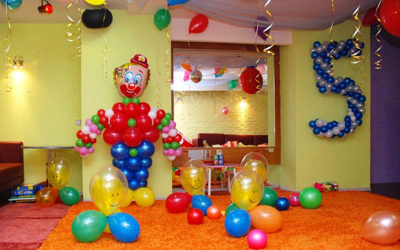 Как украсить комнату ребёнка в день рождения
