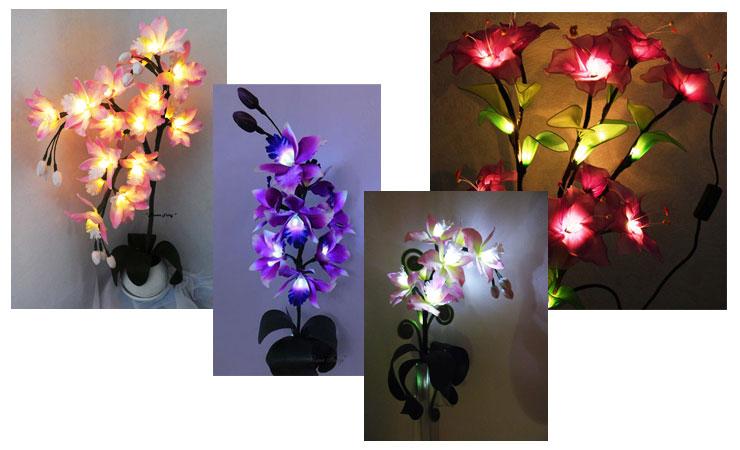 Элегантный светодиодный ночник на 8 марта