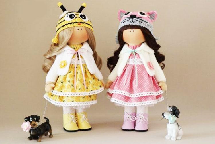 Интерьерные куклы на 8 марта