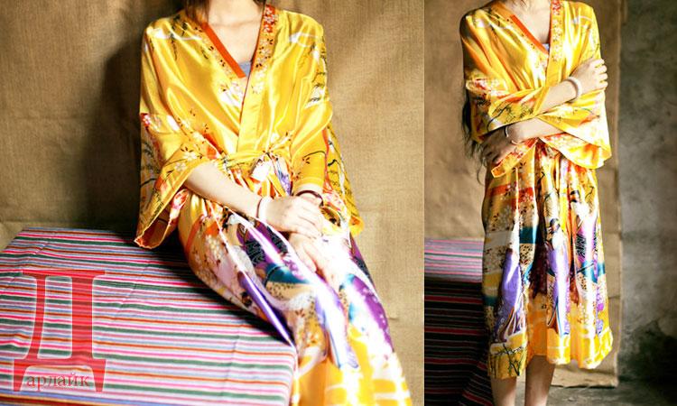Что подарить маме на Новый год - красивый халат