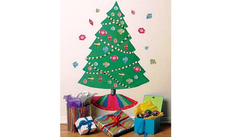 Как украсить детскую на новогодние праздники