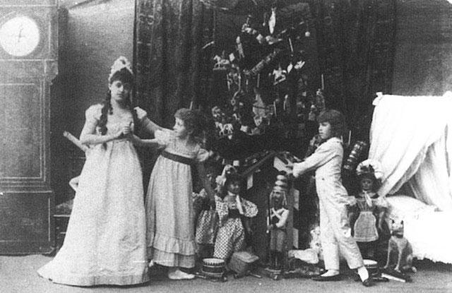 Как встречали Рождество в Царской семье