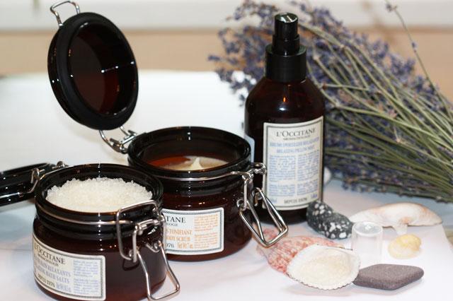 Соль для ванн L'Occitane в подарок на Новый год