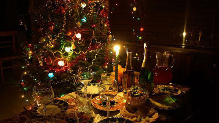 Новый год в темноте