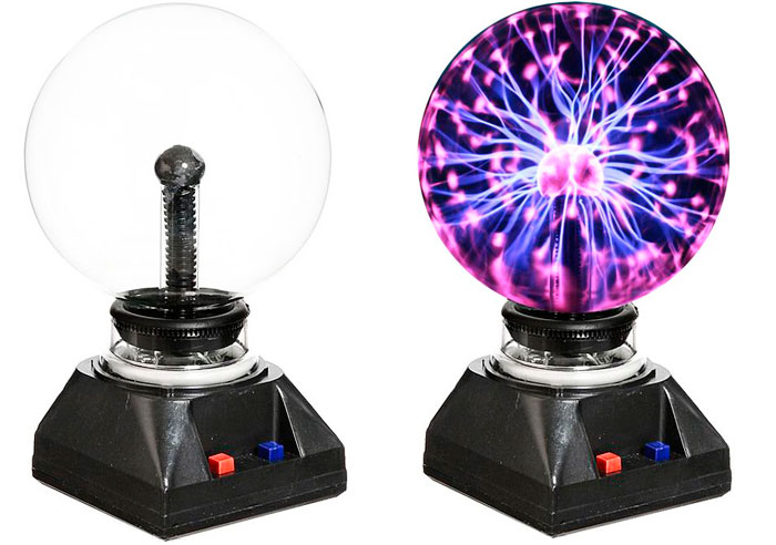 Что подарить на 23 февраля мужу - лампа Тесла