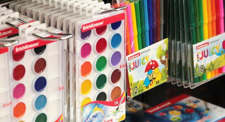 Подарок девочке на 7 лет на день рождения - краски