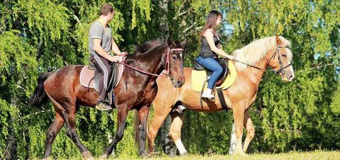 Катание на лошадях с избранницей